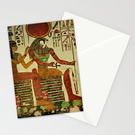 Ancient - Egyptian Wall Paintings 1956, Horus Stationery Cards