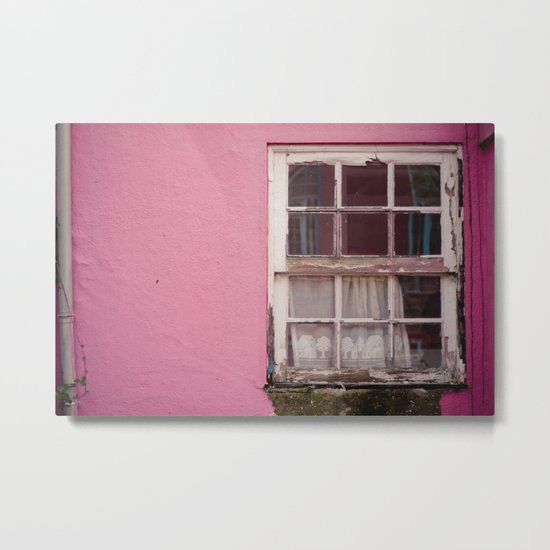 My lonely window Metal Print