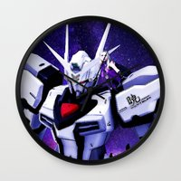 gundam Wall Clocks featuring Assembly Required by Danielle Tanimura