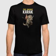 The Savage KARAK, King of Devil Jungle Island Black Mens Fitted Tee MEDIUM