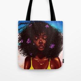 Purple X Melanin Tote Bag