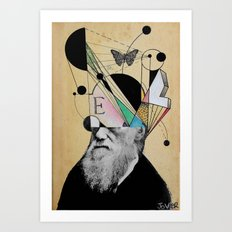 EVOLUTION FOR BEGINNERS Art Print