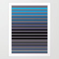 Blue Window Art Print