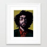 jewish Framed Art Prints featuring Jewish Steel by Virginia Giordano