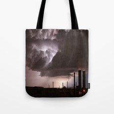 Industrial Spark Tote Bag