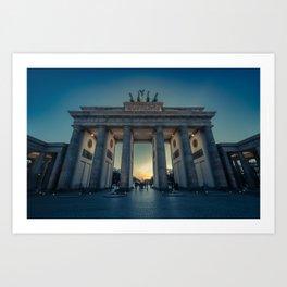 Brandenburger Tor Art Print