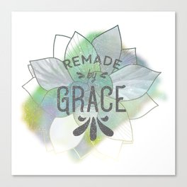 Being Remade - Succulent Version Canvas Print