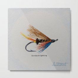 Thunder & Lightning Metal Print