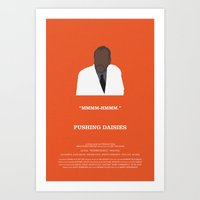 pushing daisies Art Prints featuring Pushing Daisies - Coroner by MacGuffin Designs