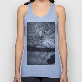 Shattered Unisex Tank Top