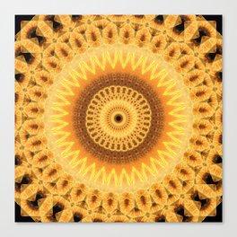 Embers Mandala Canvas Print