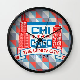 CHI-City Wall Clock
