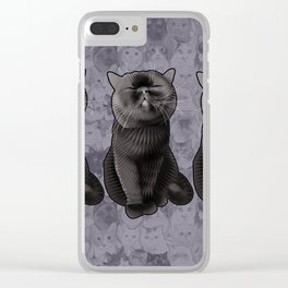Furrybottom Clear iPhone Case