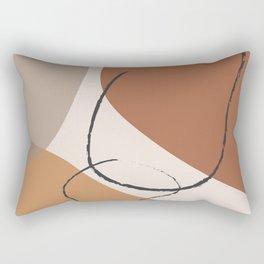 Abstract Shapes I Rectangular Pillow