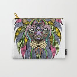 Lion face tangle Carry-All Pouch