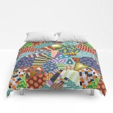 Pattern Explosion 2 Comforters