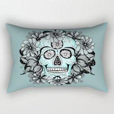 Blue Sugar Rectangular Pillow