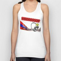 cycle Tank Tops featuring Cycle by Trey Crim