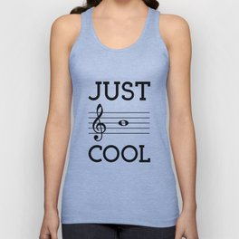 Just be cool Unisex Tank Top