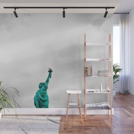 Statue of Liberty NYC (Color) Wall Mural