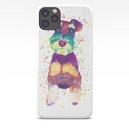Schnauzer Art iPhone Case