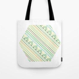 Textile Hexagon Tote Bag