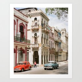 The Streets of Havana Art Print