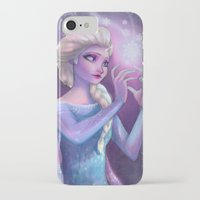 elsa iPhone & iPod Cases featuring Elsa by Red Red Telephone