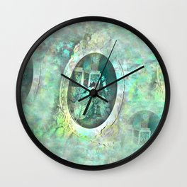 Diamond Courtship Wall Clock