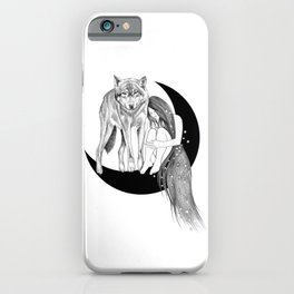 Lady Stardust iPhone Case