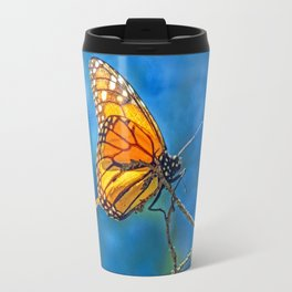 BUTTERFLY LIGHT Travel Mug