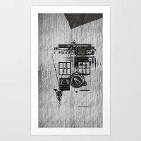 fandom Art Prints featuring Fandom by Nathan Ian Green