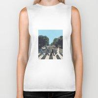 potter Biker Tanks featuring Potter Road by alboradas