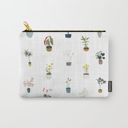 plants in pots Carry-All Pouch