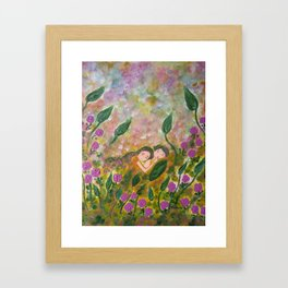 Magical endings Framed Art Print