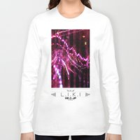 chandelier Long Sleeve T-shirts featuring chandelier by RLRL