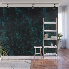 Stone Turquoise pattern Wall Mural
