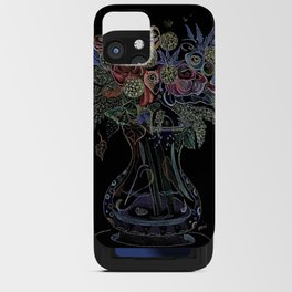 Floral Octopus Vase iPhone Card Case