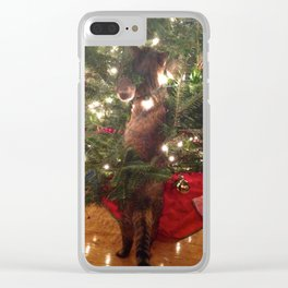 Curiousity Killed The Cat Clear iPhone Case