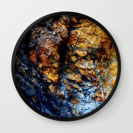 Blue Tears Wall Clock