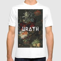 Wrath White Mens Fitted Tee MEDIUM