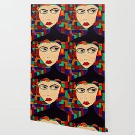 Portrait of a Persuasive Girl Wallpaper