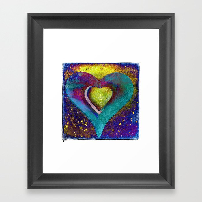 Heart of My Heart Framed Art Print