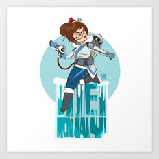 Freeze! It's Mei Day! Art Print