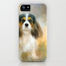 The Attentive Cavalier iPhone Case