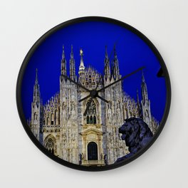 The Lion and Duomo Wall Clock