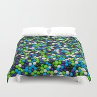 sprinkles Duvet Covers featuring Sprinkles by Jessica Torres Photography