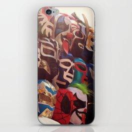 Lucha Libre Masks iPhone Skin