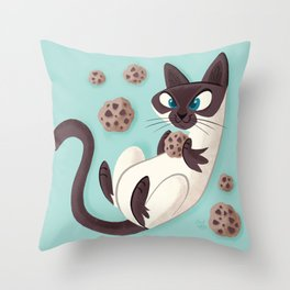 Elvis Want a Cookie? (from the My Favorite Murder podcast) Throw Pillow