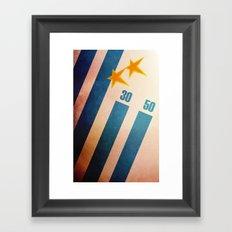 Uruguay World Cup Framed Art Print